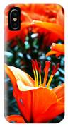 Lilies In Bloom IPhone Case