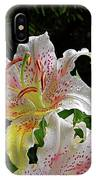 Lilies In The Rain IPhone Case