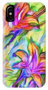 Lilies Transformed IPhone Case