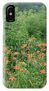 Lillies In The Valley IPhone Case