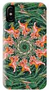 Lilly In Abstract IPhone Case
