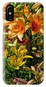 Lily Garden Bouquet  IPhone Case