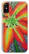 Lily In My Garden IPhone Case