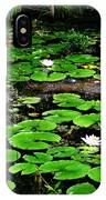 Lily Pad Turtle Camo IPhone Case