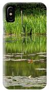 Lily Pads At Giverney IPhone Case