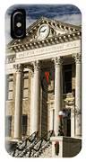 Limestone County Courthouse Alabama IPhone Case
