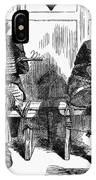 Lincoln Cartoon, 1864 IPhone Case