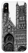 Lincoln Cathedral Facade IPhone Case