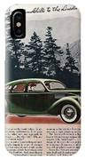 Lincoln Zephyr 1936 IPhone Case