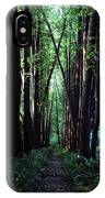 Linden Trees Line Leo Tolstoys Favorite IPhone Case