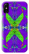Linear Movement In Purple IPhone Case