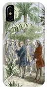 Linnaeus And De Jussieu, Botanists IPhone Case