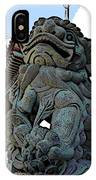 Lion Of Buddha IPhone Case