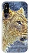 Lion Stare IPhone Case