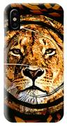 Lioness Face IPhone Case