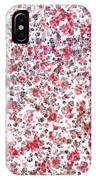 Lipstick And Eyeliner Abstract IPhone Case