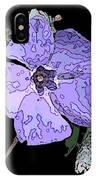 Little Blue 3 IPhone Case