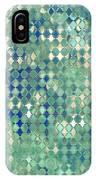 Little Blue Diamonds IPhone Case