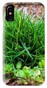 Little Grass Mound IPhone Case