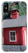 Little Red Birdhouse IPhone Case