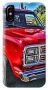 Little Red Express Hdr IPhone Case