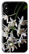 Little White Orchids IPhone Case