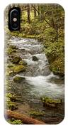 Little Zig Zag Stream IPhone Case