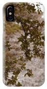 Live Oak In Shower IPhone Case