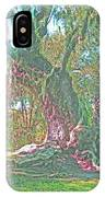 Live Oak On The Teche IPhone Case