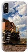 Loccomotive To The Sky IPhone Case