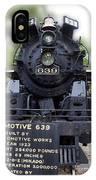 Locomotive 639 Type 2 8 2 Front View IPhone Case