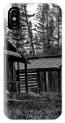 Log Cabins-faded Dreams IPhone Case