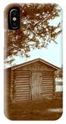 Log Shed In The Shade IPhone Case