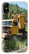 Logging Truck 2 - Burke Idaho Ghost Town IPhone Case