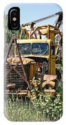 Logging Truck - Burke Idaho Ghost Town IPhone Case