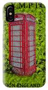 London Calling 2012 IPhone Case