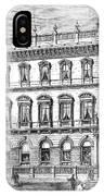 London: Carlton Club, 1868 IPhone Case