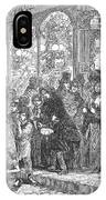 London: Christmas, 1866 IPhone Case