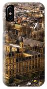 London From The London Eye IPhone Case