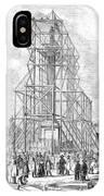 London: Nelson Column, 1845 IPhone Case