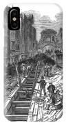 London:fleet Street Sewer IPhone Case