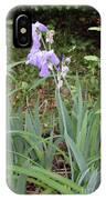 Lonely Gladiola IPhone Case