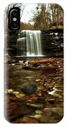 Long Canyon Waterfall IPhone Case