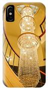Long Chandelier Lights Up The Wall IPhone Case