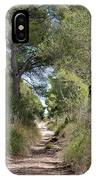 Long Forest Road IPhone Case
