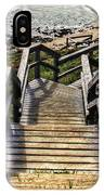 Long Stairway To Beach 2 IPhone Case