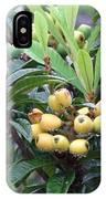 Loquats In The Rain IPhone Case