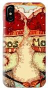 Los Dos Chilies IPhone Case