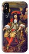 Louis Xiv (1638-1715) IPhone Case