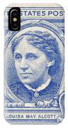 Louisa May Alcott (1832-1888) IPhone Case